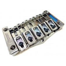 Hipshot Transtone 5 String Bass Bridge Black Nickel