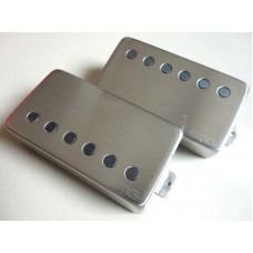 EMG 57/66 Guitar Pickup Set Brushed Chrome
